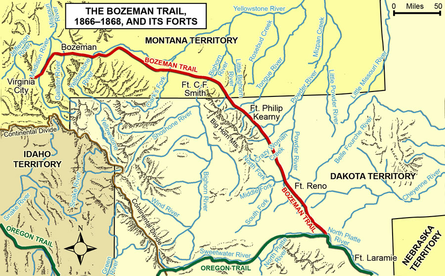 Path to the Battle of Little Bighorn Part Two 1860s 1876 Mr